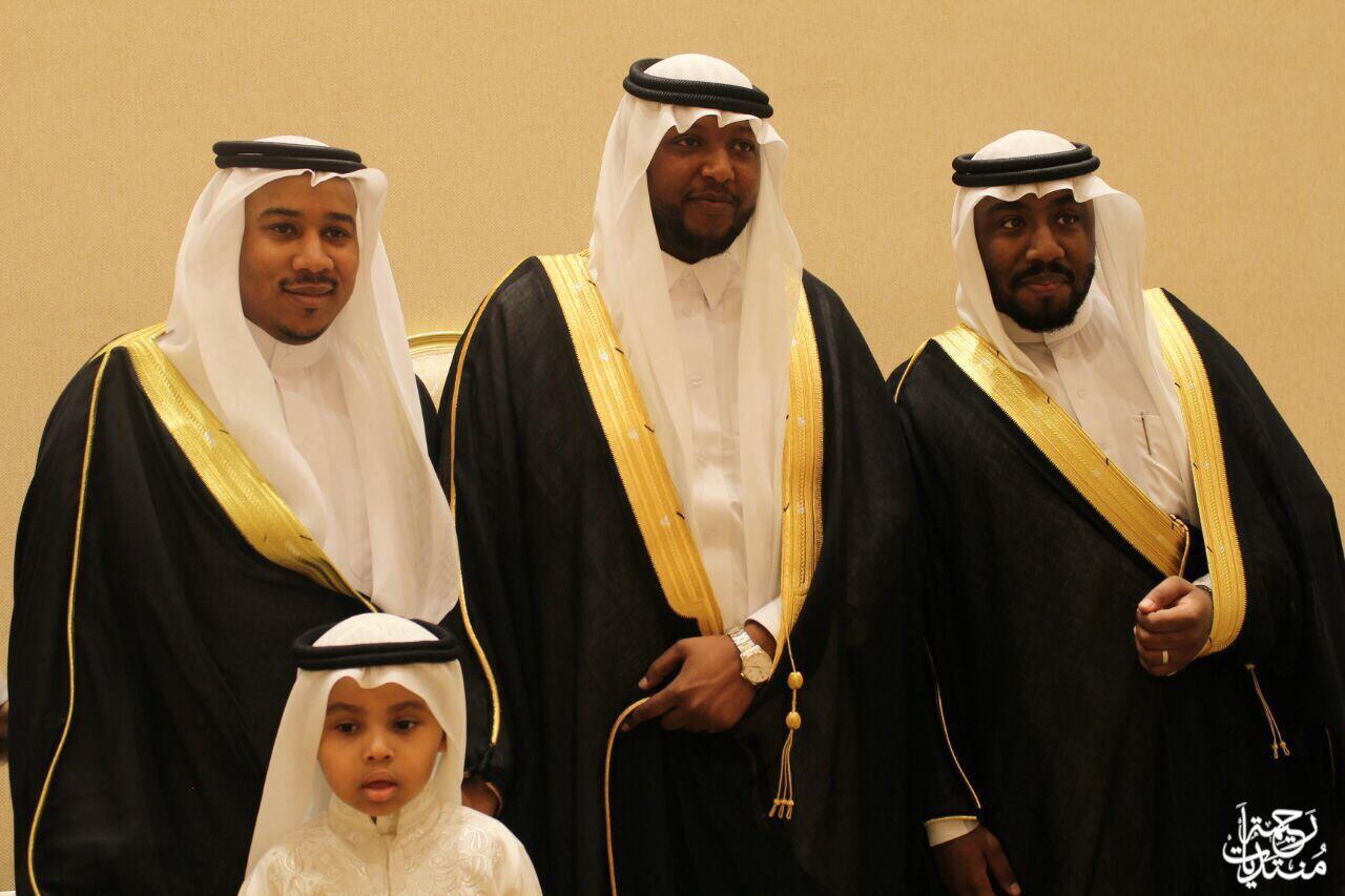 الشاب محمد سلطان ابوعشوان عريساً