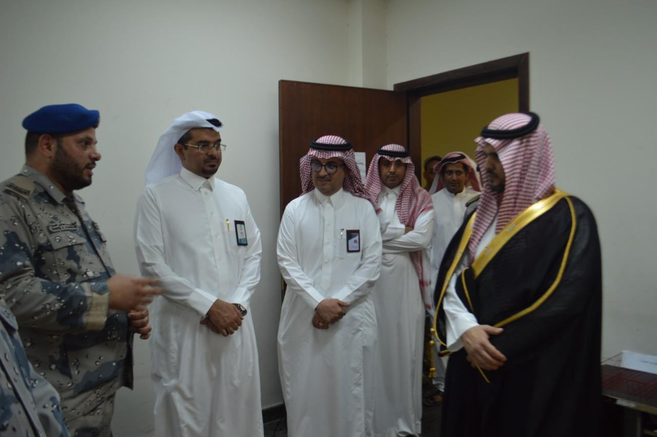 محافظ تنورة عبدالرحمن الرشودي زيارة
