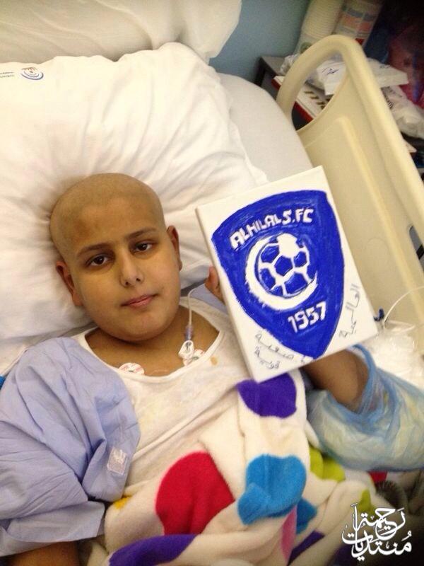 سوالف محارب السرطان عبود التميمي