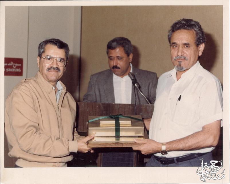 لقاء الوالد عبدالله حمدان الغامدي