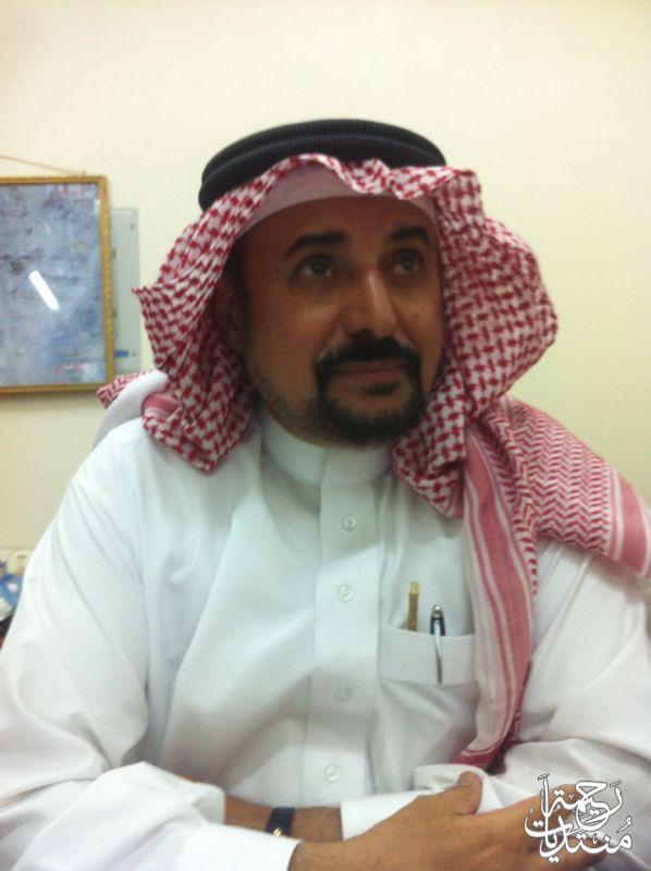 لقاء الاستاذ عبدالرحمن سالم السيف
