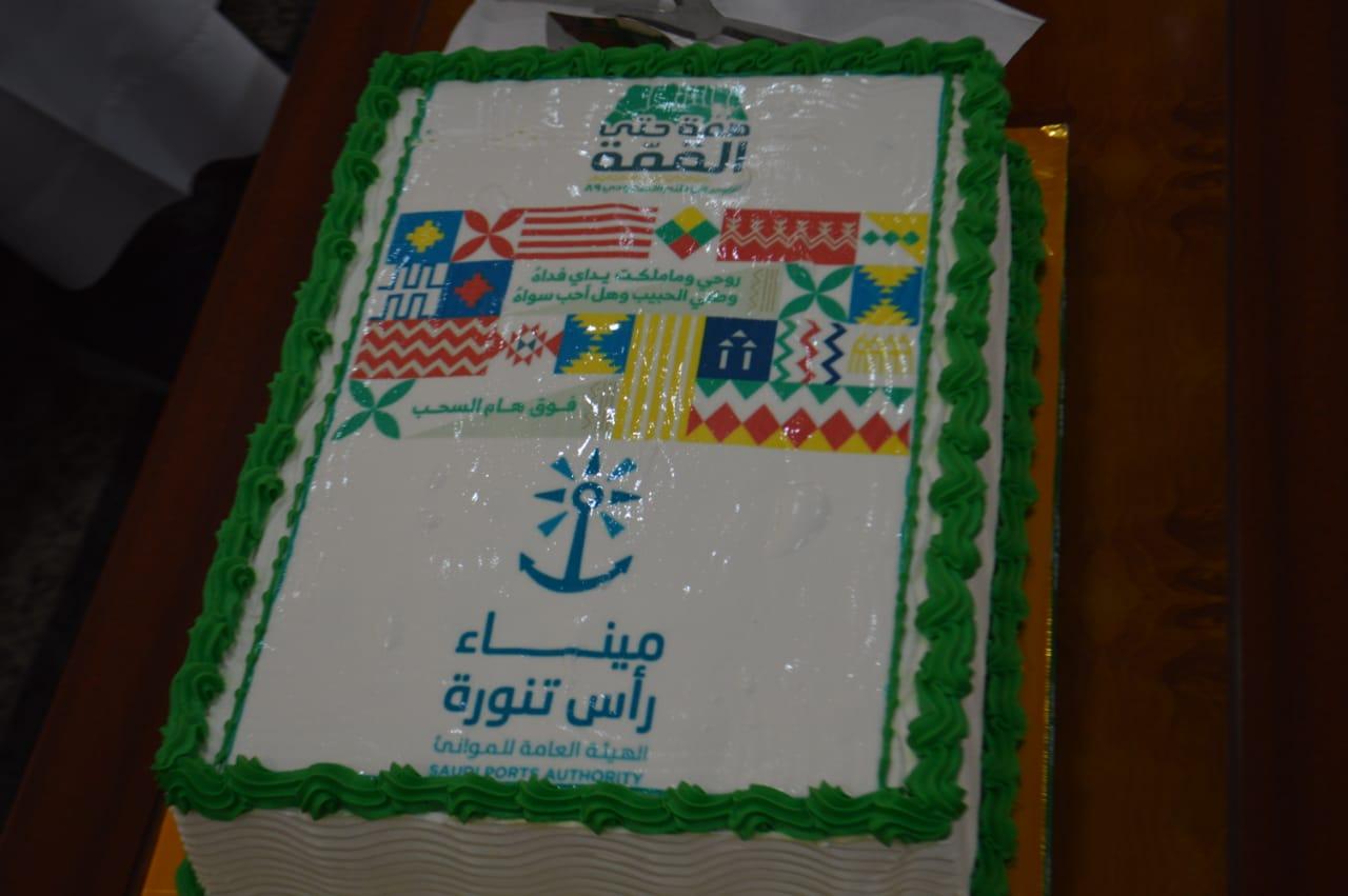 احتفال ميناء تنورة باليوم الوطني